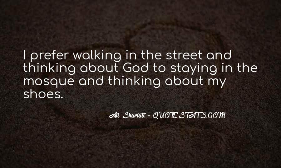 Sayings About Shoes And Walking #1109616