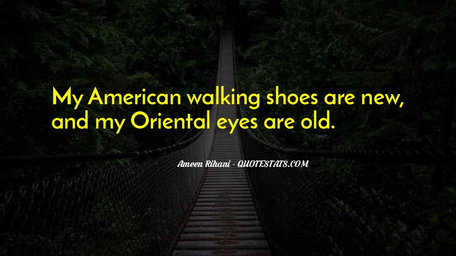 Sayings About Shoes And Walking #1144601
