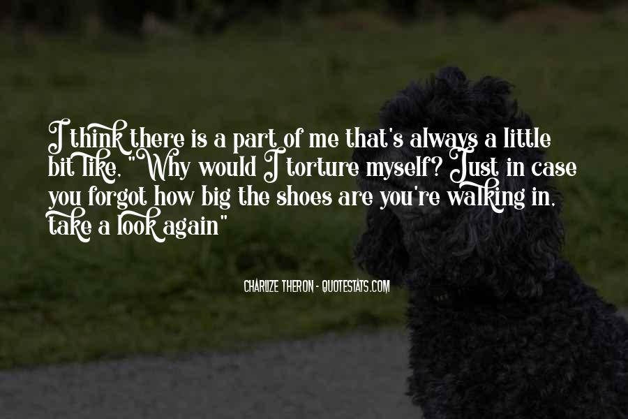 Sayings About Shoes And Walking #1590540