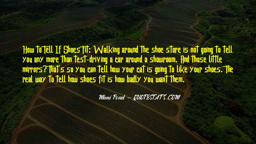 Sayings About Shoes And Walking #775901