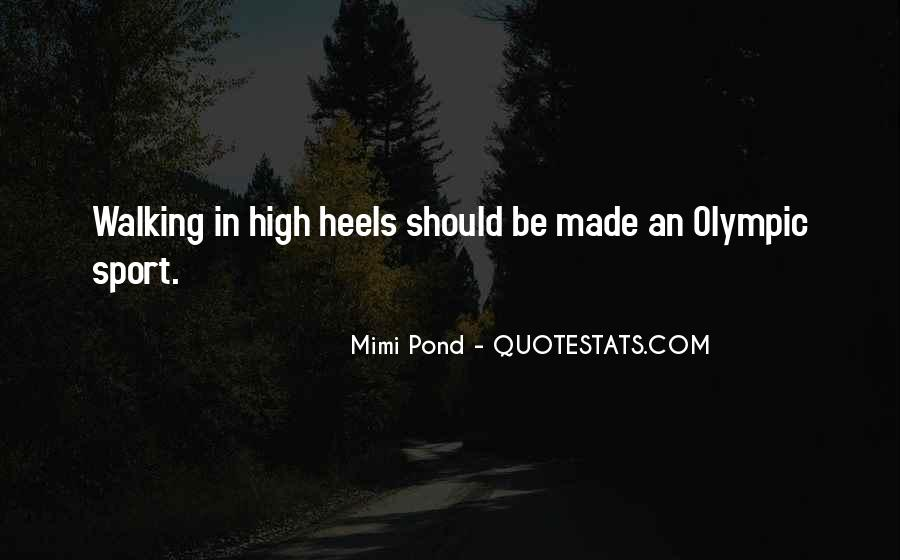Sayings About Shoes And Walking #901828