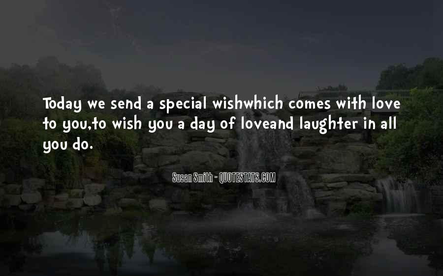Sayings About Special Day #435214