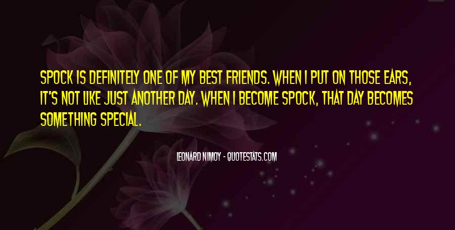 Sayings About Special Day #444357