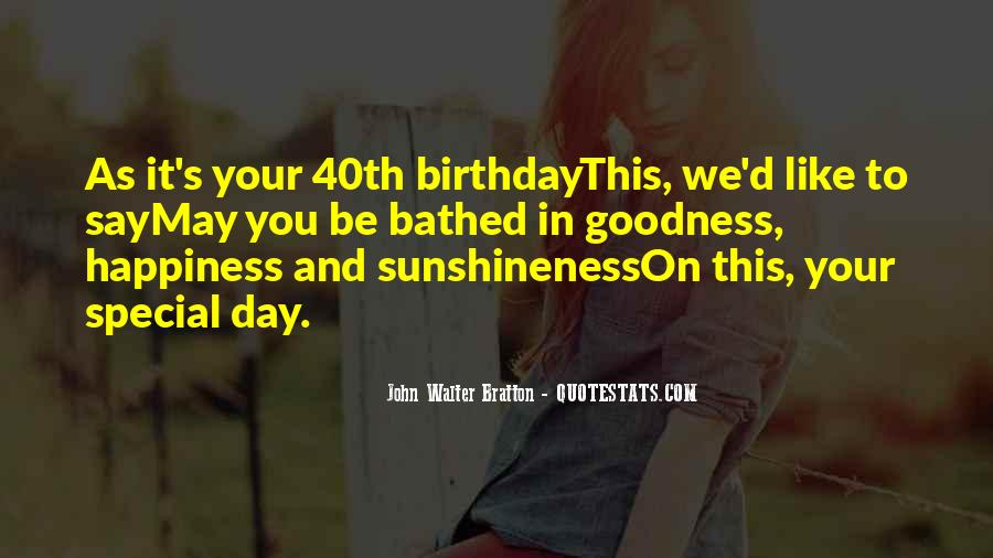 Sayings About Special Day #45177