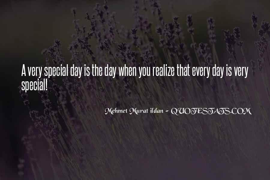 Sayings About Special Day #520370