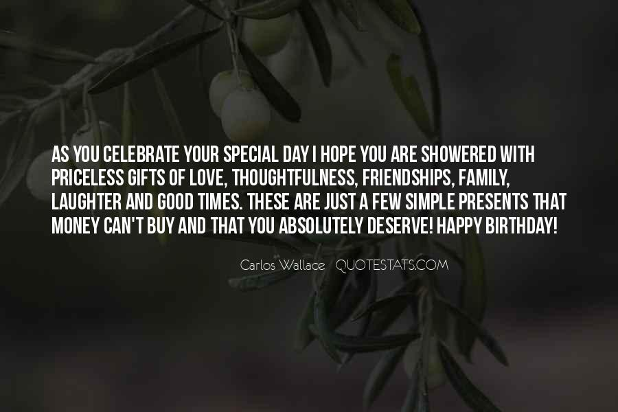 Sayings About Special Day #689740