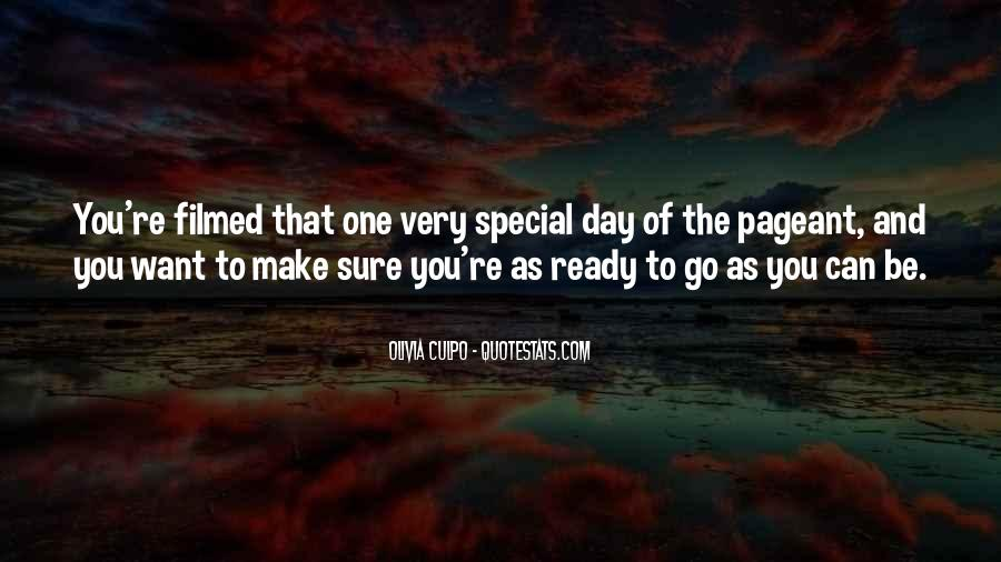 Sayings About Special Day #781042