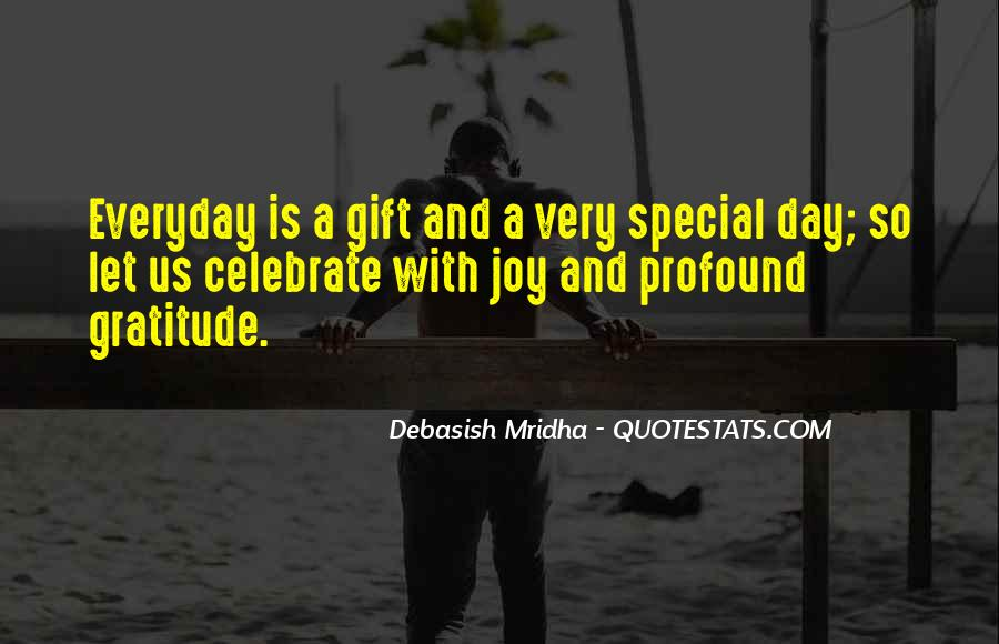Sayings About Special Day #809915