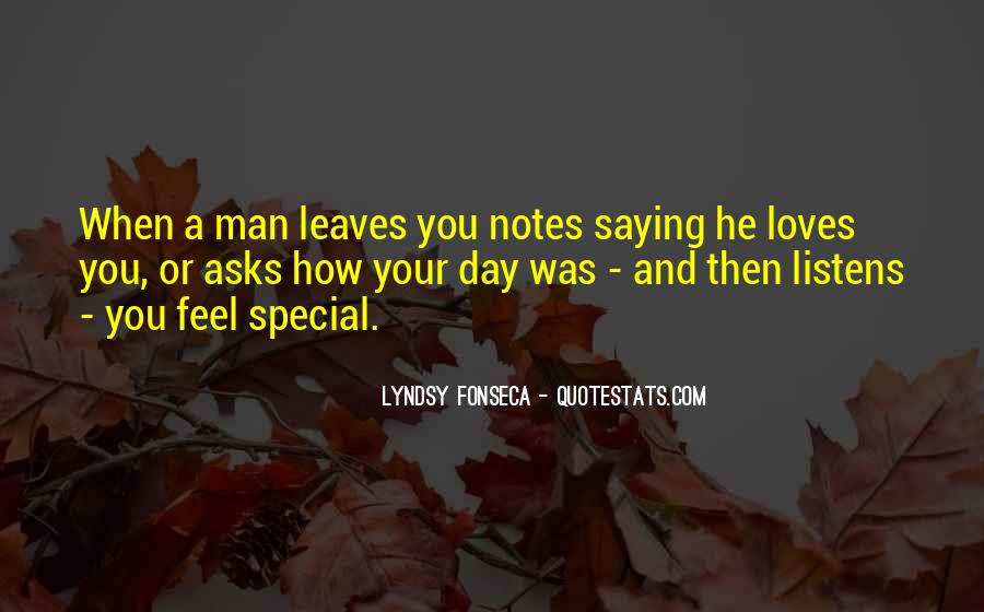 Sayings About Special Day #883713