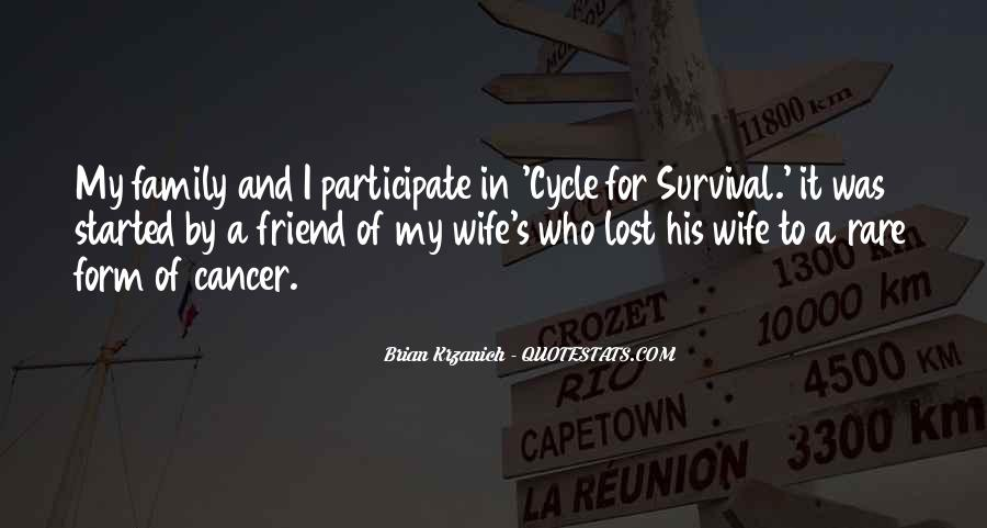 Sayings About Cancer Survival #1070985