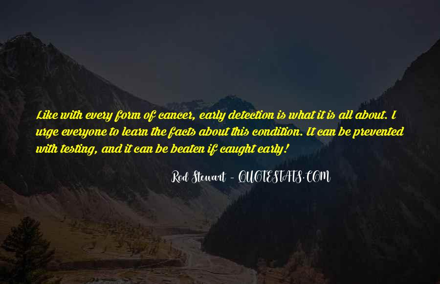 Sayings About Cancer Survival #1233648