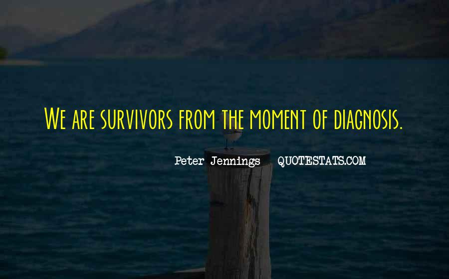 Sayings About Cancer Survival #416066