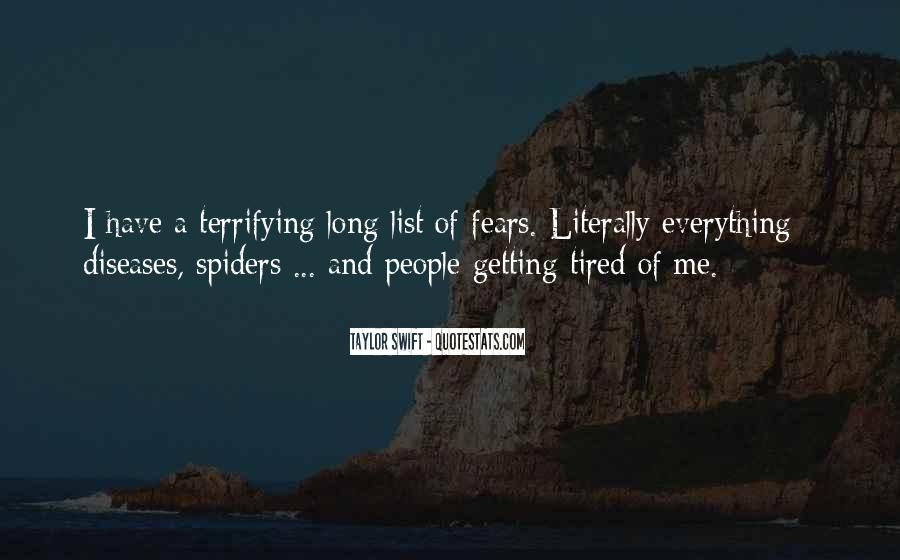 Sayings About Getting Tired #807156