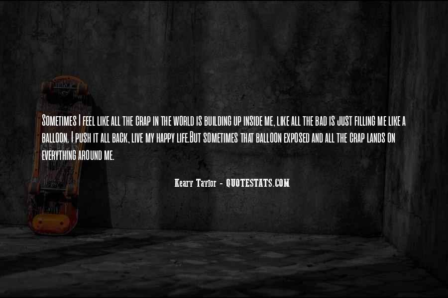 Sayings About A Sad Life #235603