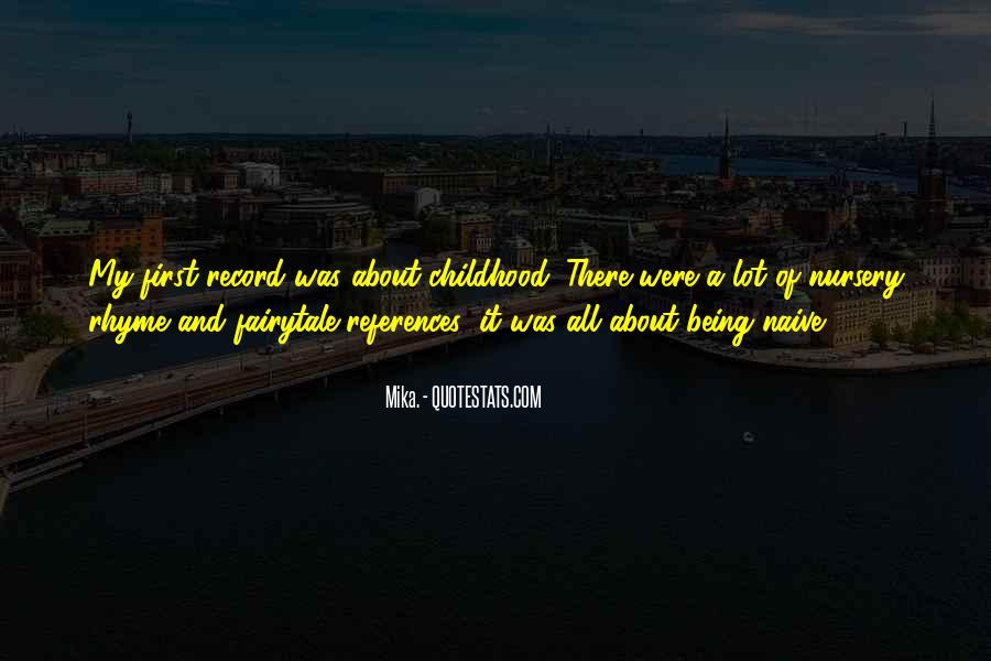 Sayings About Not Being Naive #1060952