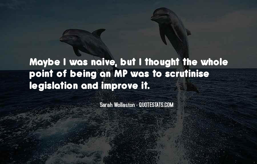 Sayings About Not Being Naive #925633