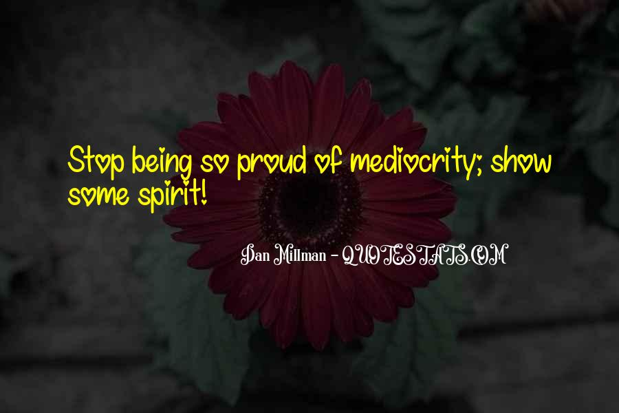 Sayings About Being Too Proud #8799
