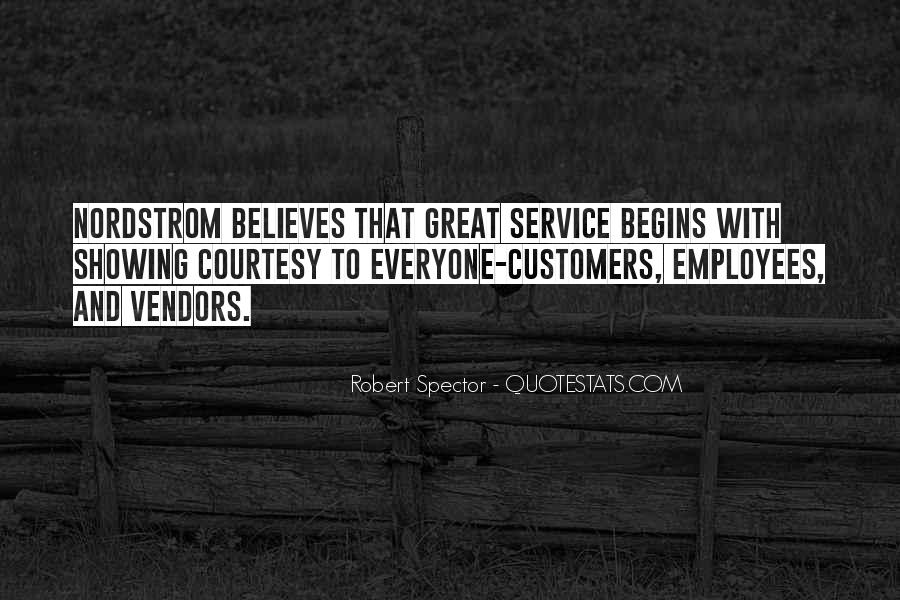 Sayings About Great Service #147569
