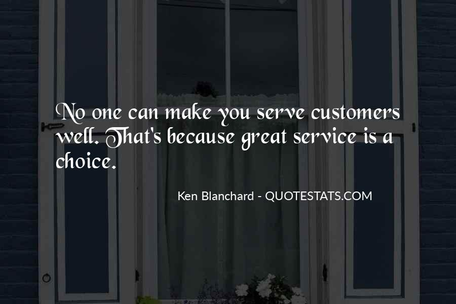 Sayings About Great Service #179163