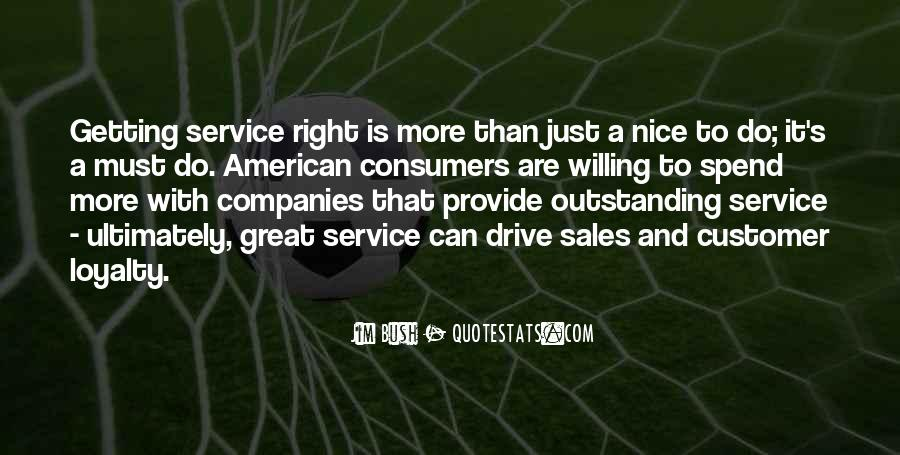 Sayings About Great Service #472361