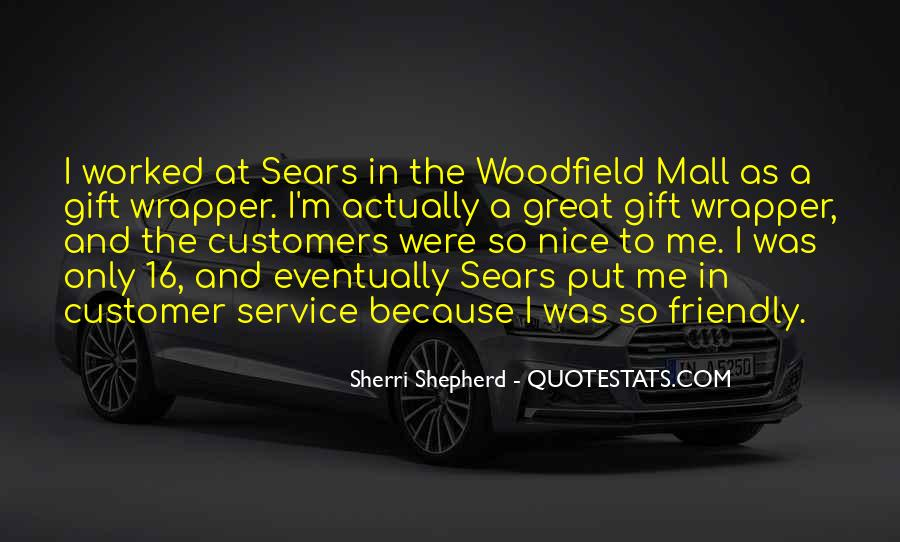 Sayings About Great Service #51680