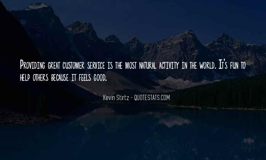 Sayings About Great Service #562229