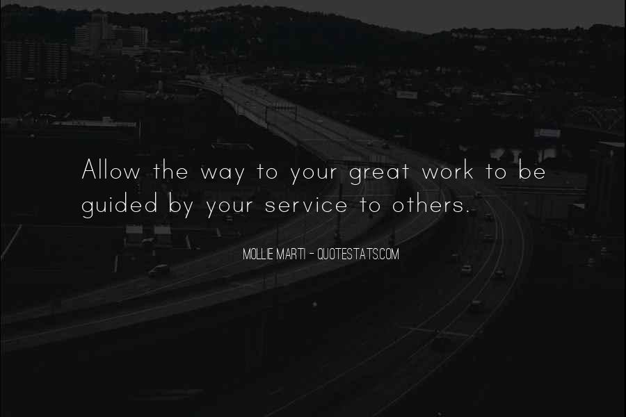 Sayings About Great Service #931
