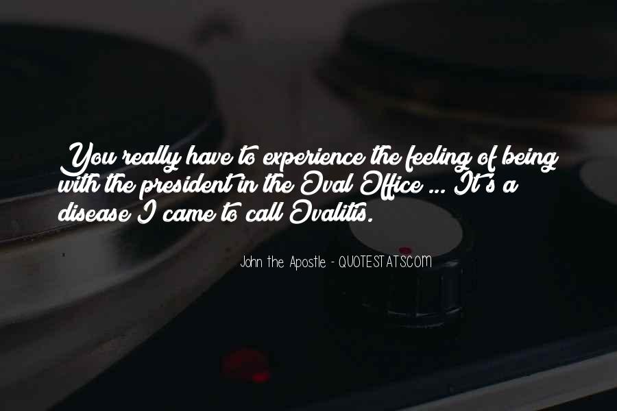 Sayings About Being A President #1156235