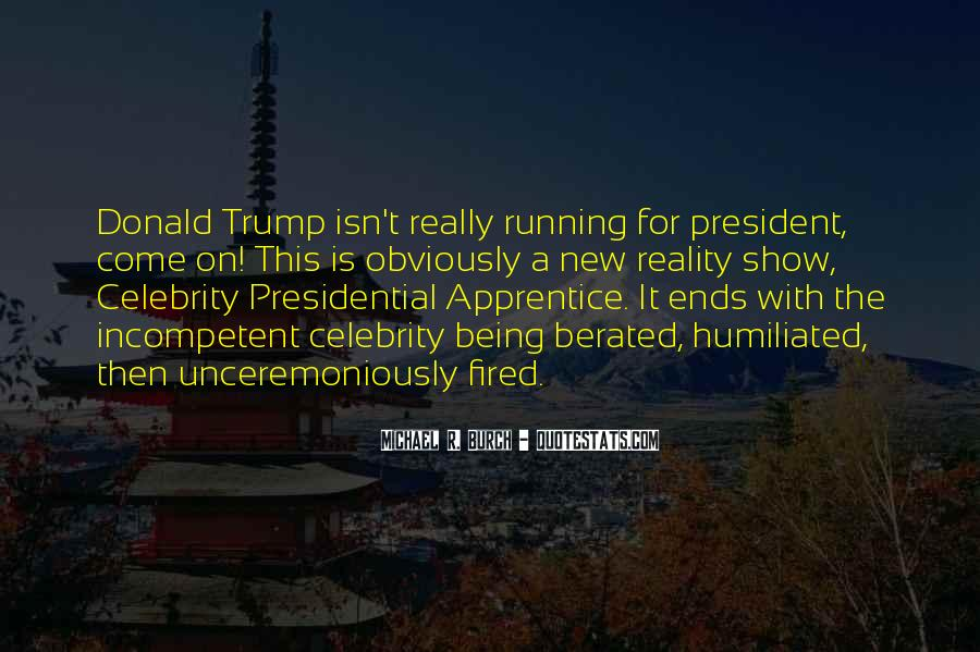Sayings About Being A President #1337296