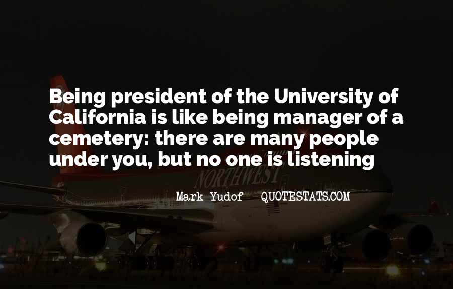Sayings About Being A President #1339523