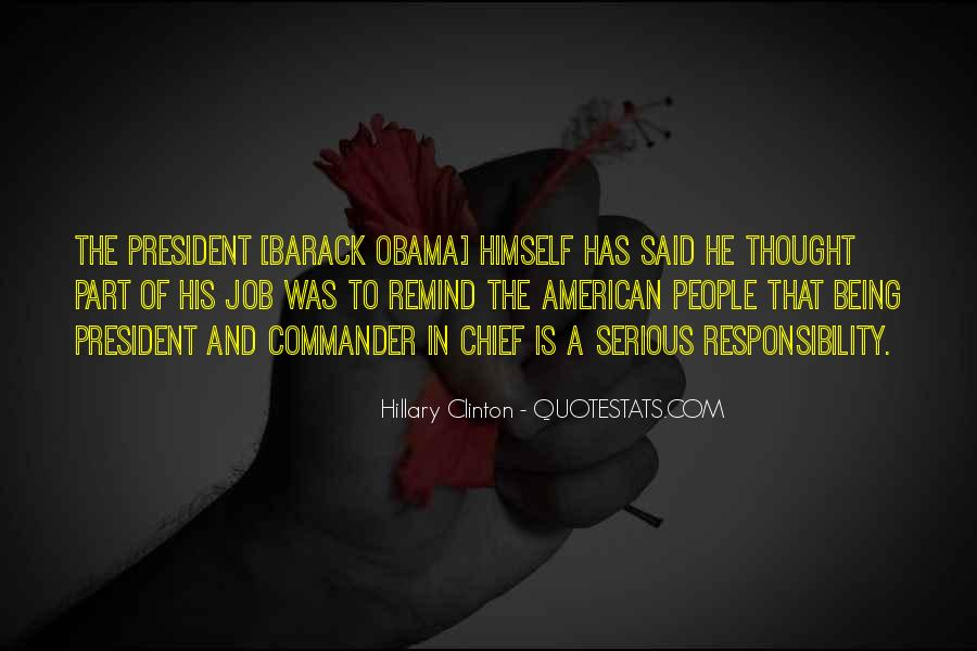 Sayings About Being A President #1432952