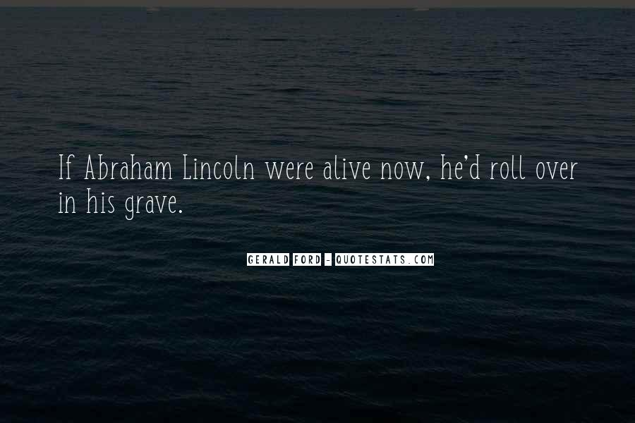Abraham Ford Sayings #776549