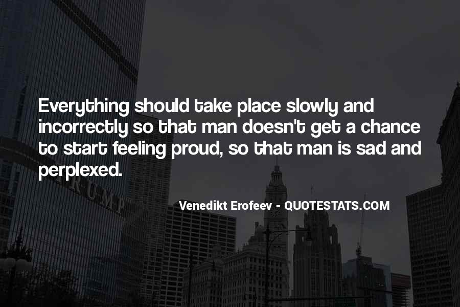 Quotes About Feeling Sad #130831