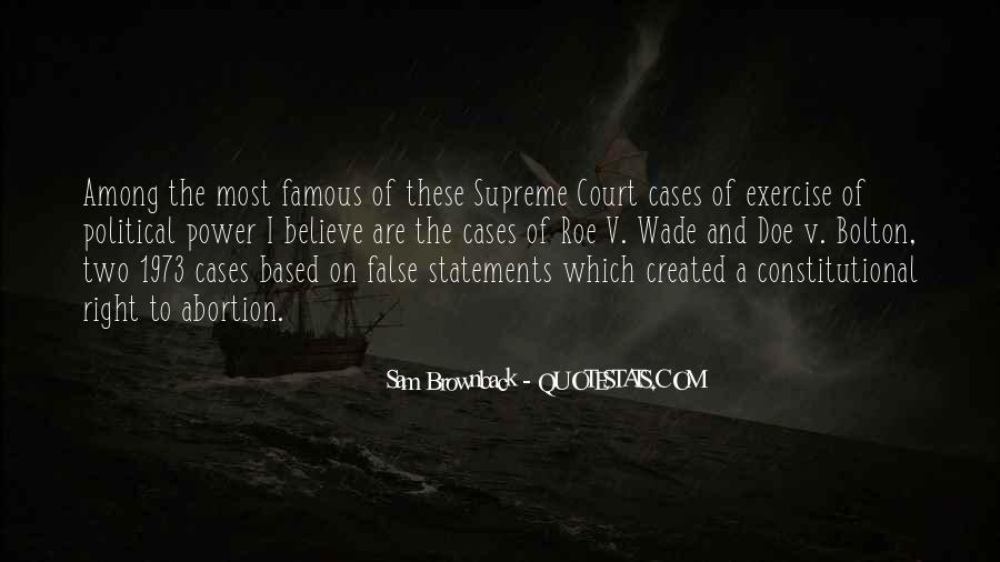 Famous Court Sayings #1024541