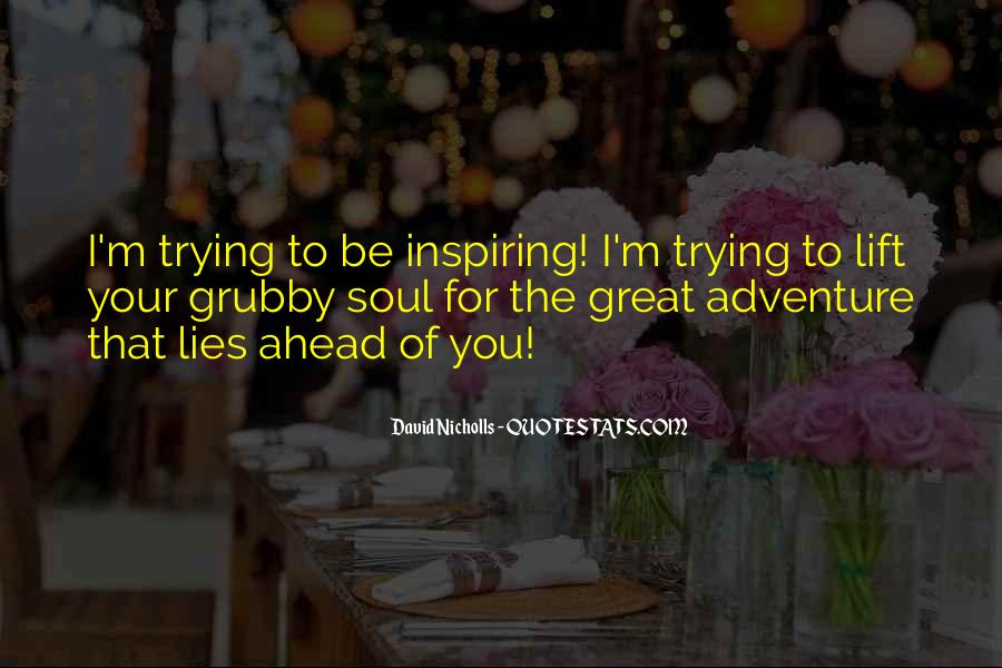 Great Adventure Sayings #319941