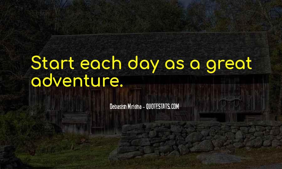 Great Adventure Sayings #414823