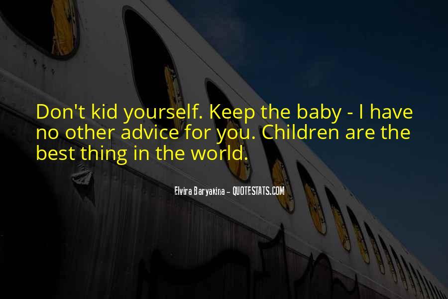 Baby Advice Sayings #161363