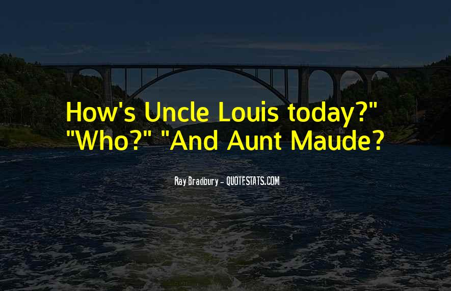 Uncle And Aunt Sayings #159064