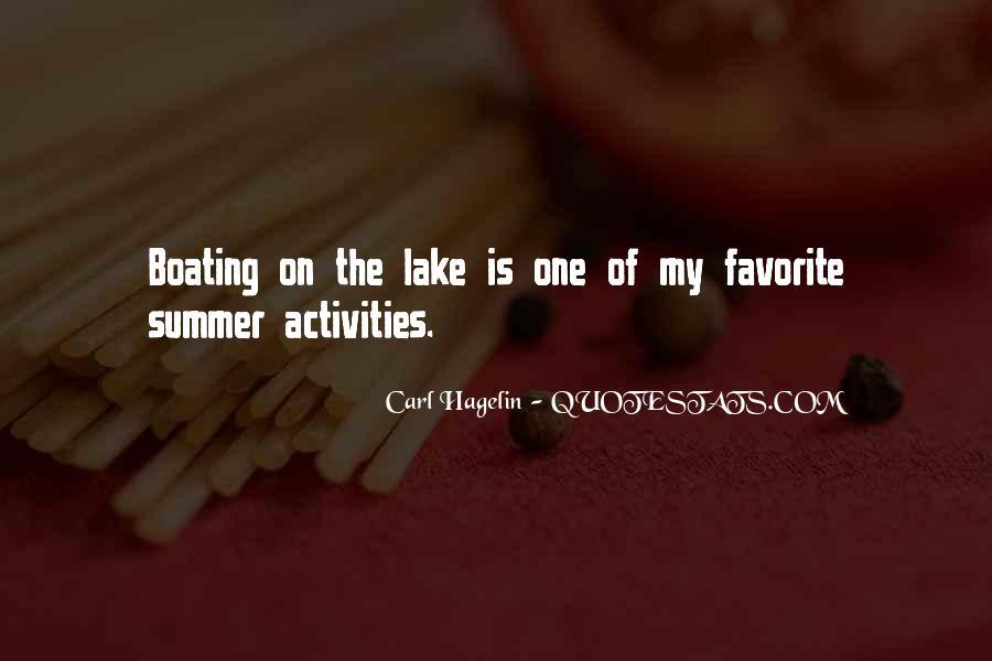 Summer Lake Sayings #1158303