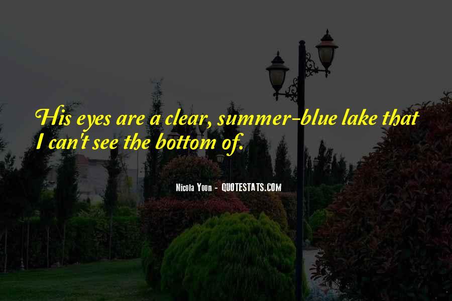 Summer Lake Sayings #1220454