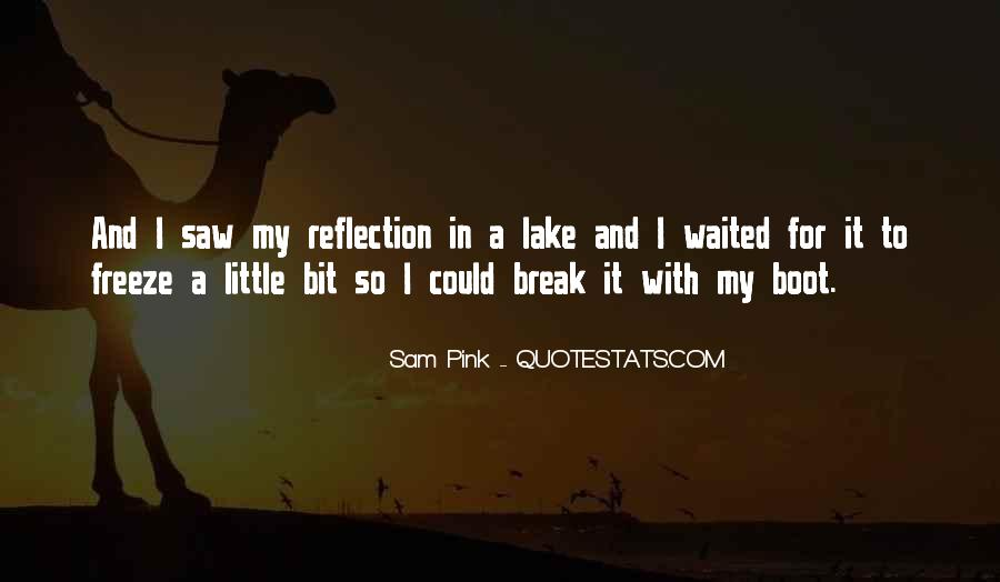 Quotes About Self Reflection #109020