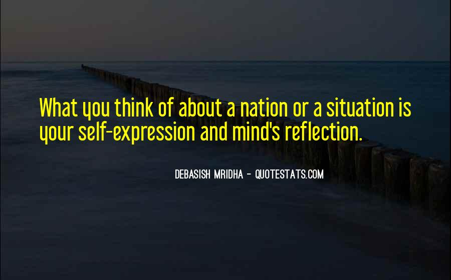 Quotes About Self Reflection #196109