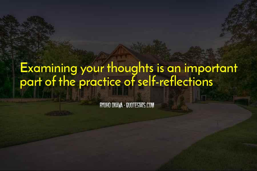 Quotes About Self Reflection #215871