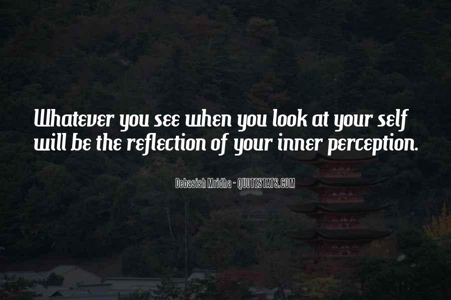 Quotes About Self Reflection #220750