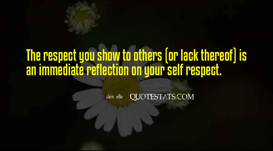 Quotes About Self Reflection #442581