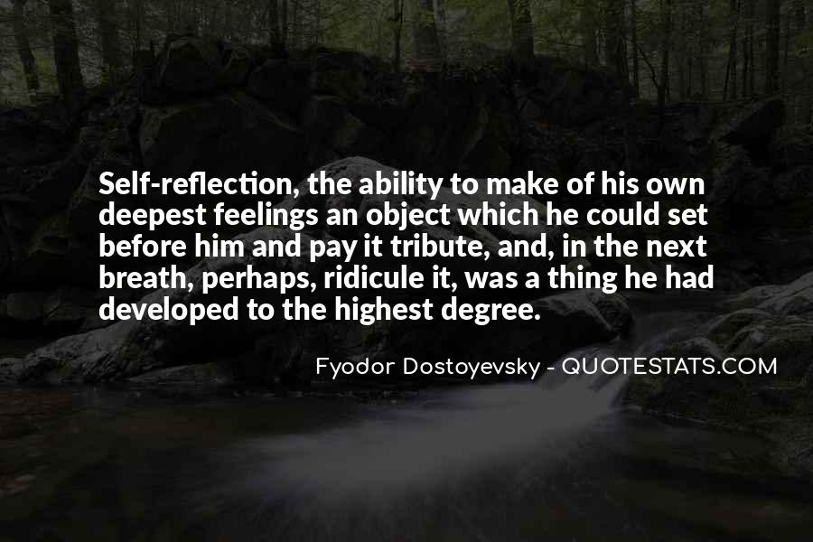 Quotes About Self Reflection #505504