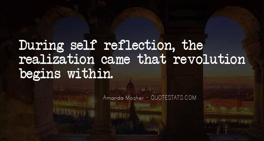 Quotes About Self Reflection #738368