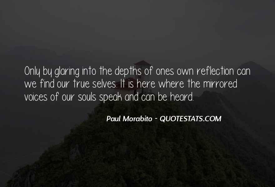 Quotes About Self Reflection #92650
