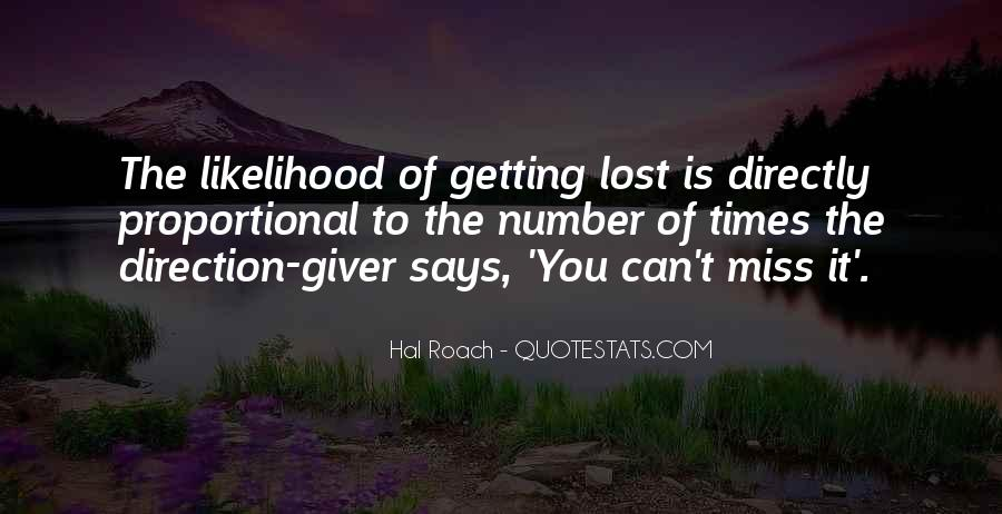 Funny If Lost Sayings #304737