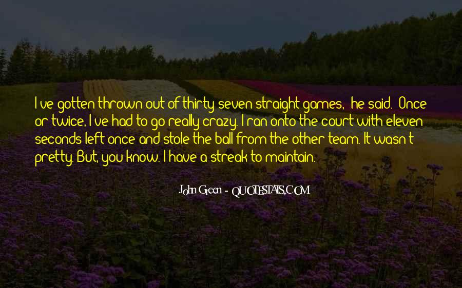 Quotes About Green Team #1340921